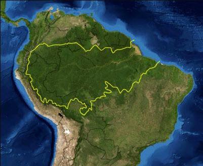 Amazónia Brasileira - Rute Norte