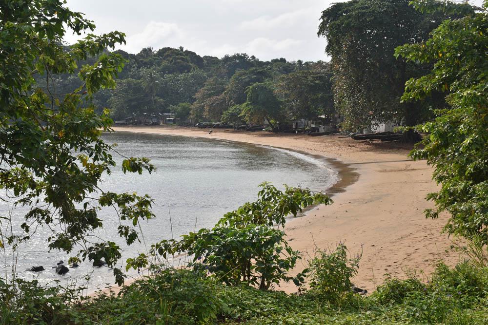Principe - Abade Beach